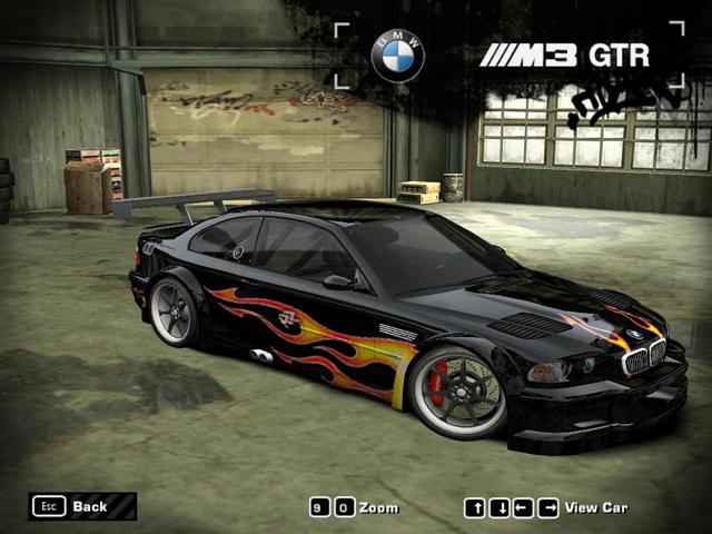 bmw m3 gtr nfsmw. (NFS: MW) - BMW M3 GTR