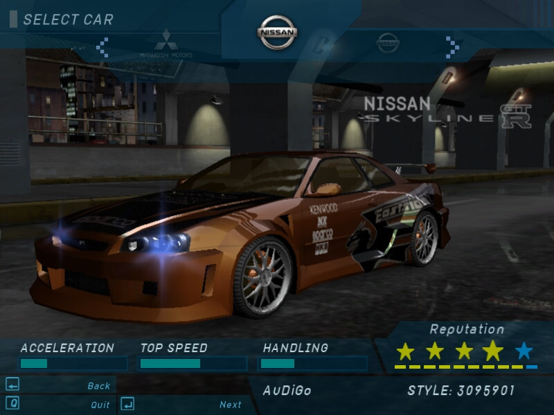 Need For Speed Underground Nfs U Na Scorpions Cz