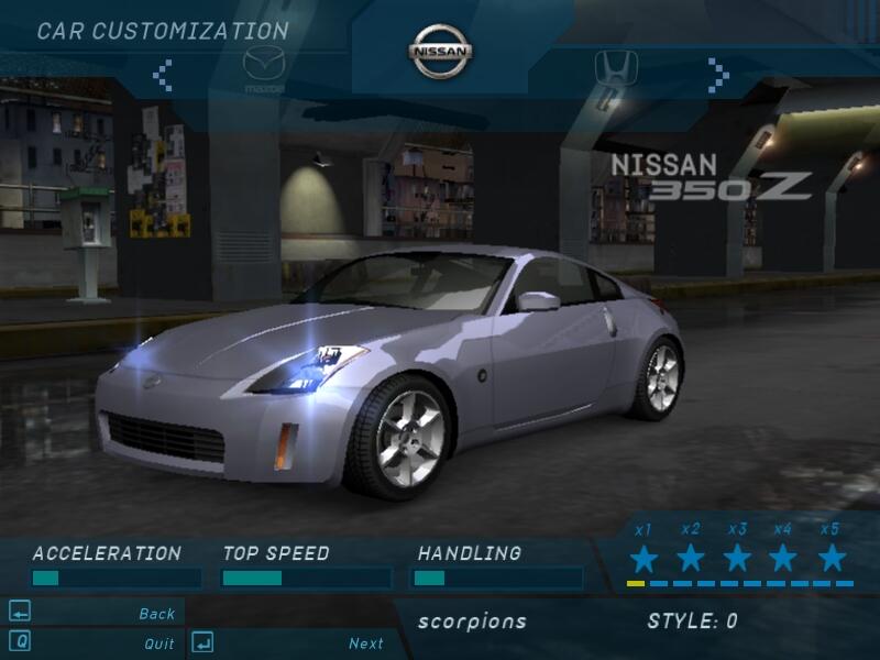 Need for Speed: Underground (NFS: U) - na Scorpions.cz